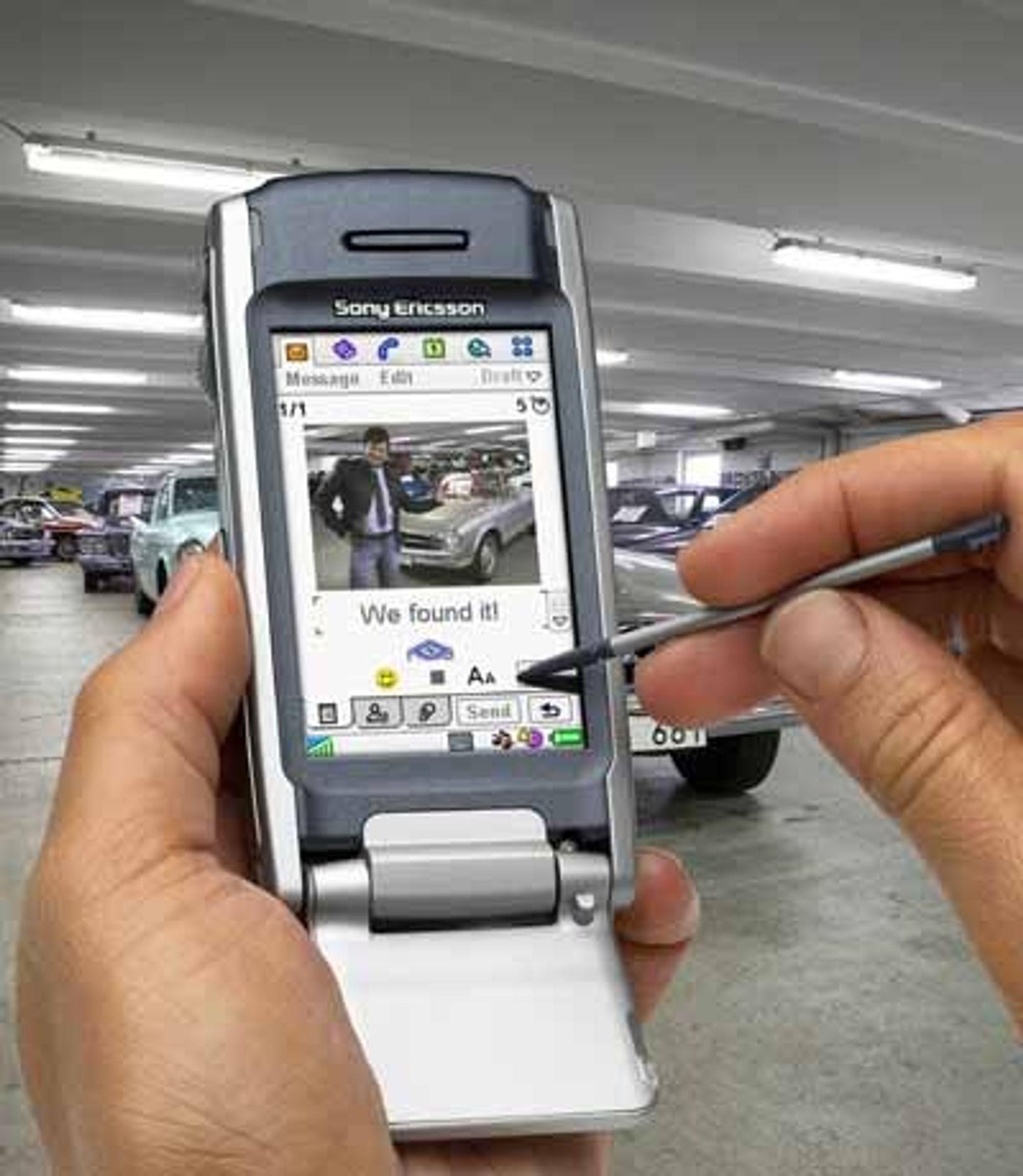 Med morgendagens bakkebaserte nett kan du billig og greit få inn digitale sendinger som video og TV. Foto: Sony Ericssson