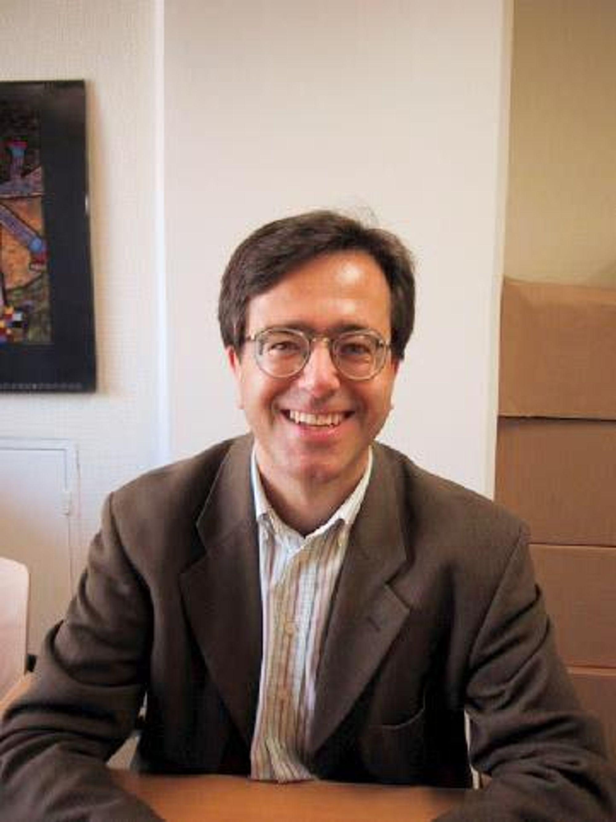 Jan Borgen, generalsekretær, Transparency International Norge