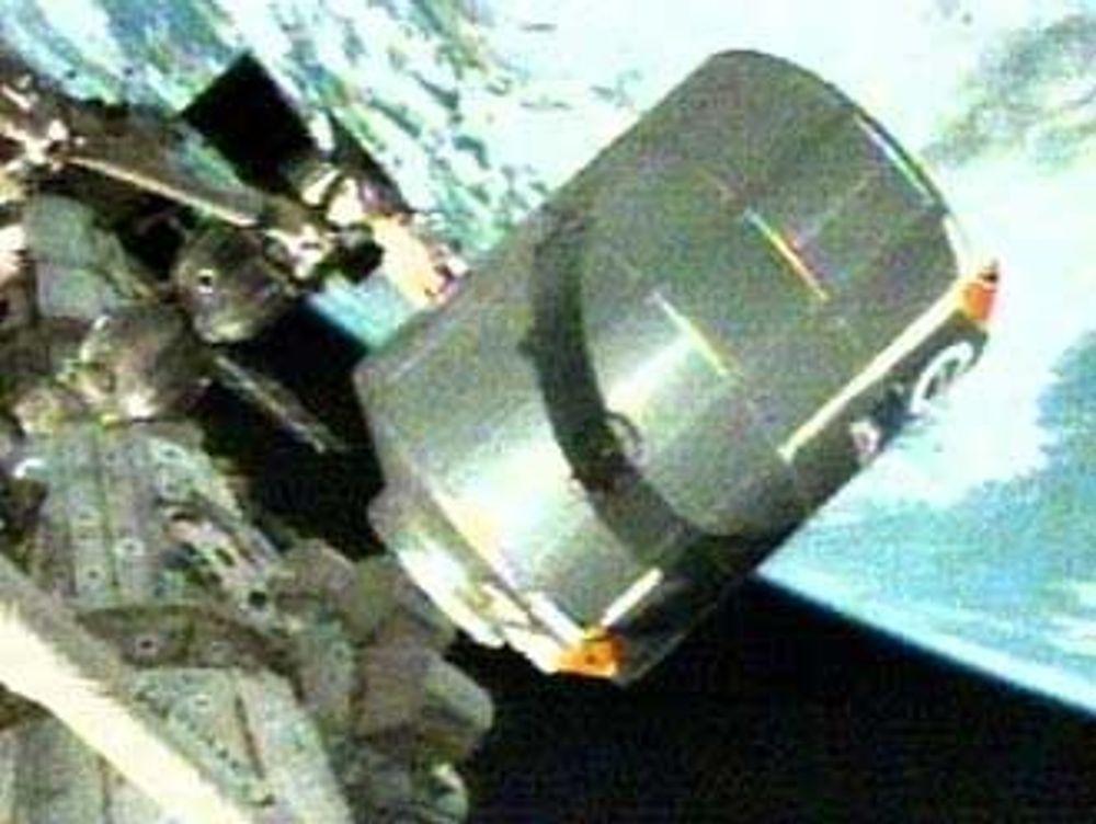 Logistikkmodulen Rafaello på den internasjonale romstasjonen ISS