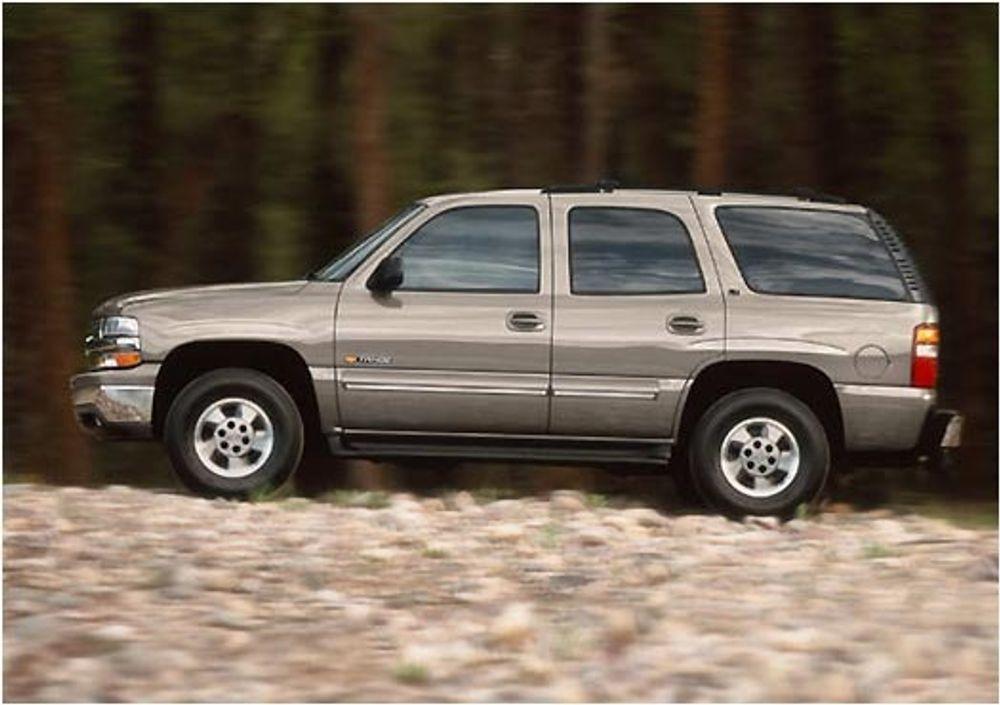 MÅ INN: Har du en Tahoe, en Suburban eller en annen av sværingene fra GM, så kjør innom en GM-forhandler snarest. Du må få sjekket ABS-systemet før det smeller. Ikke minst viktig nå som glattføret nærmer seg.