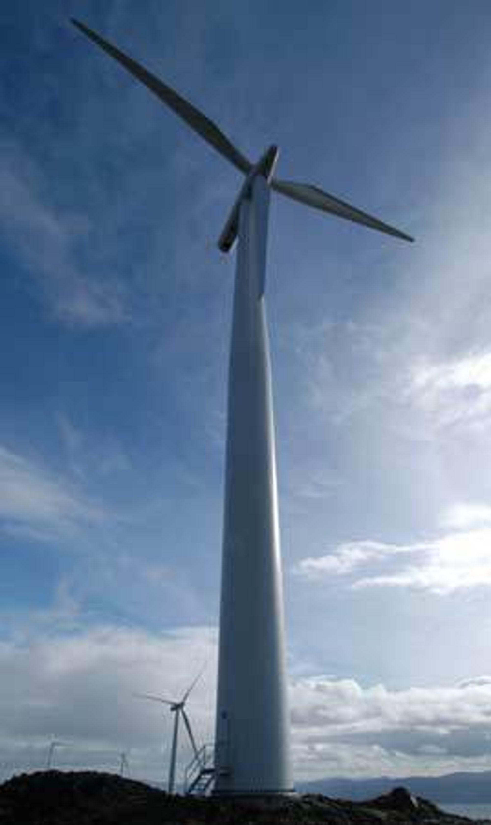 Rogaland skal prydes med vindturbiner. Arkivfoto