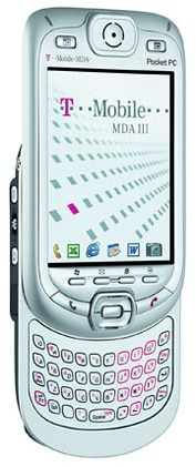 Dette er hovedpremien i julekonkurransen., en Qtek 9090, både PDA og mobiltelefon.