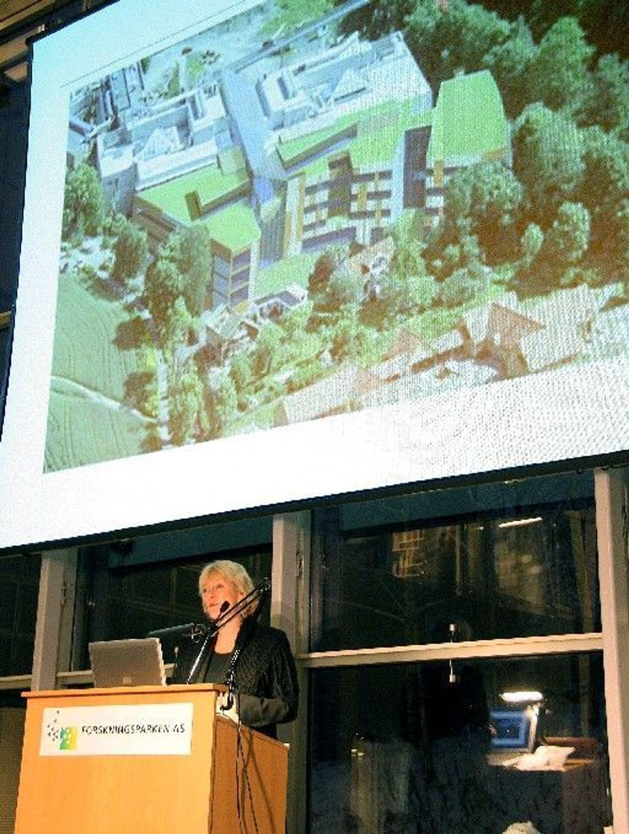 MARKERING:Utdannings- og forskningsminister, Kristin Clemet markerte etableringen av den nye miljøforskningsenteret i Oslo.
