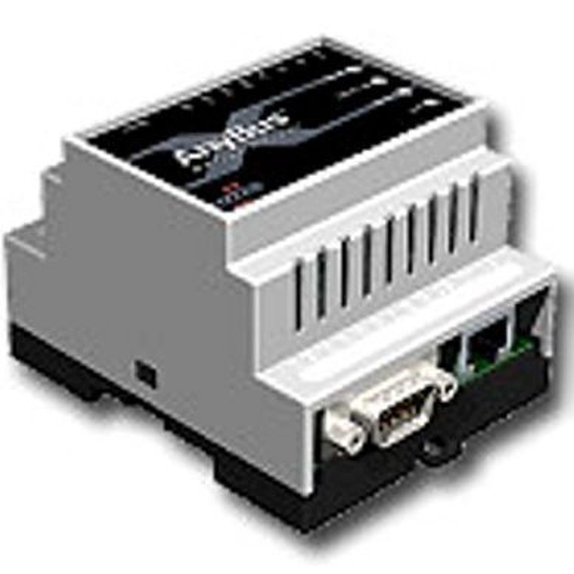 ENKLERE: Anybus X Serial server kan brukes som en fjerntilkoblet serieport.