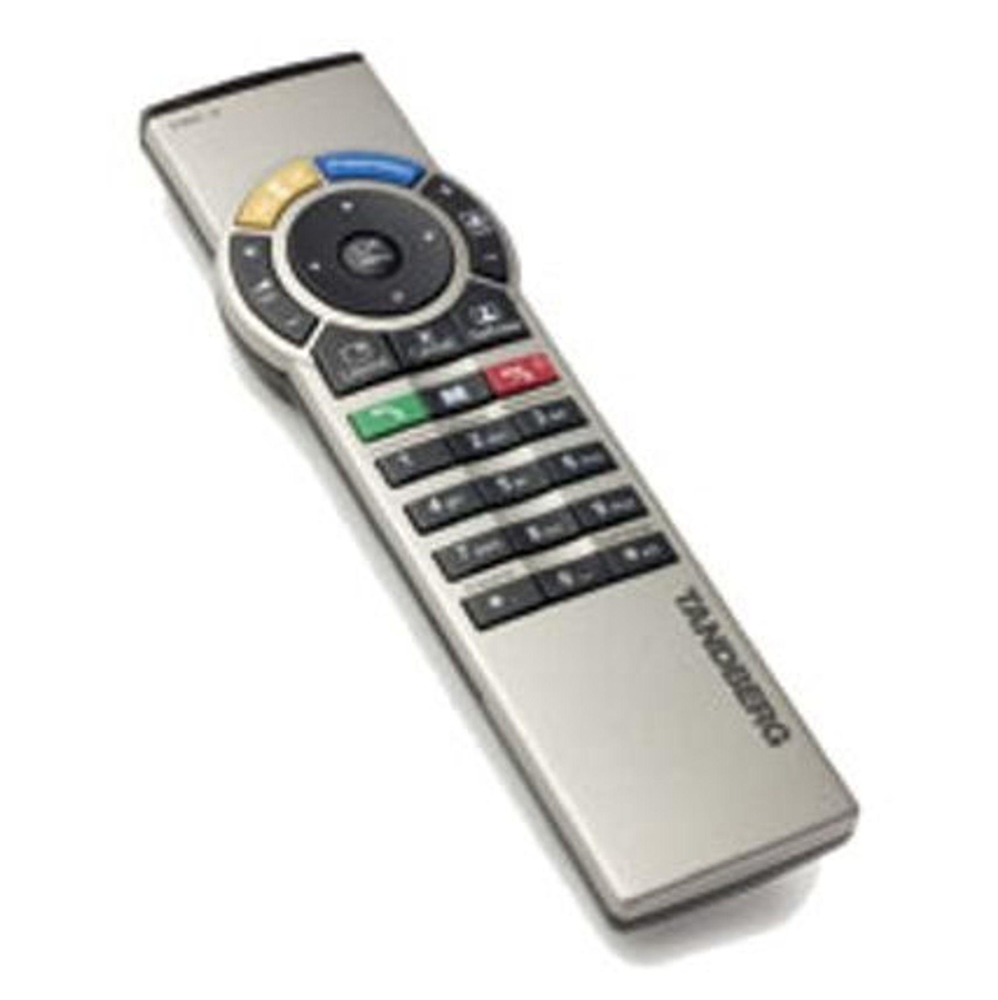 GOD DESIGN:Fjernkontrollen til Tandberg MXP videokonferanseprodukter er tildelt Merket for god design 2004.FOTO: TANDBERG