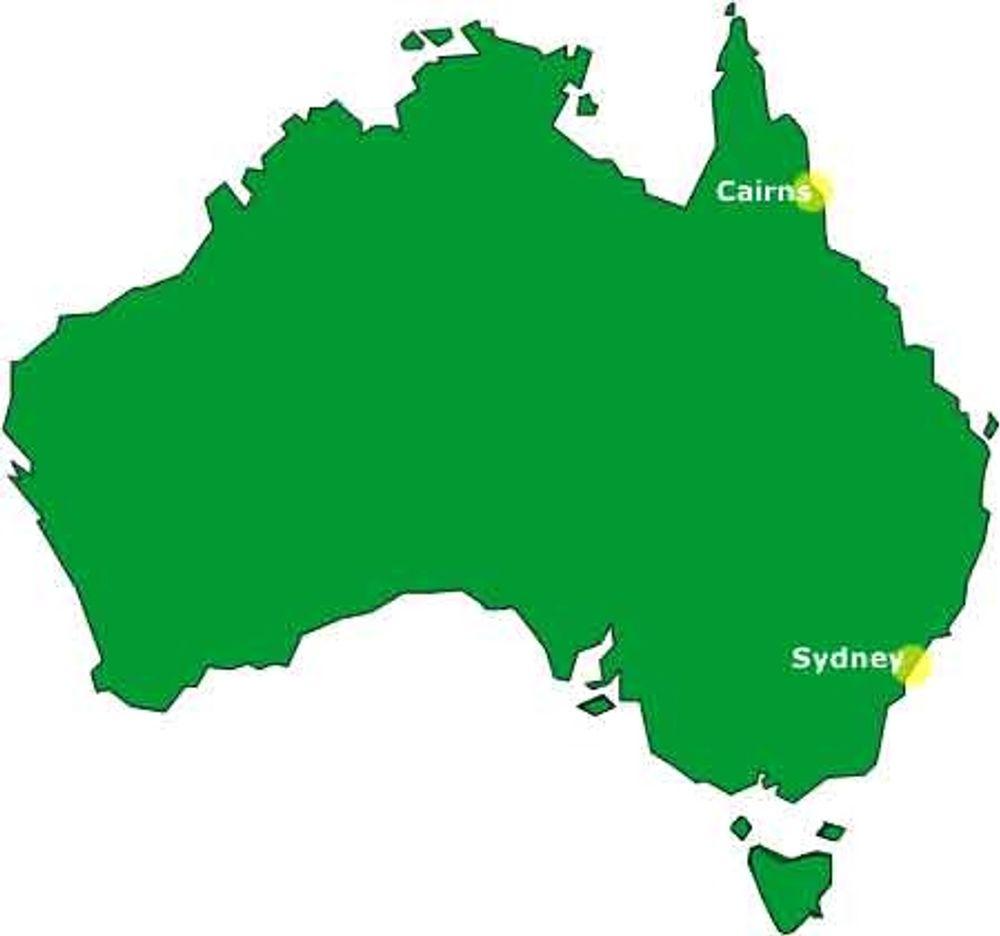 Australia vokser