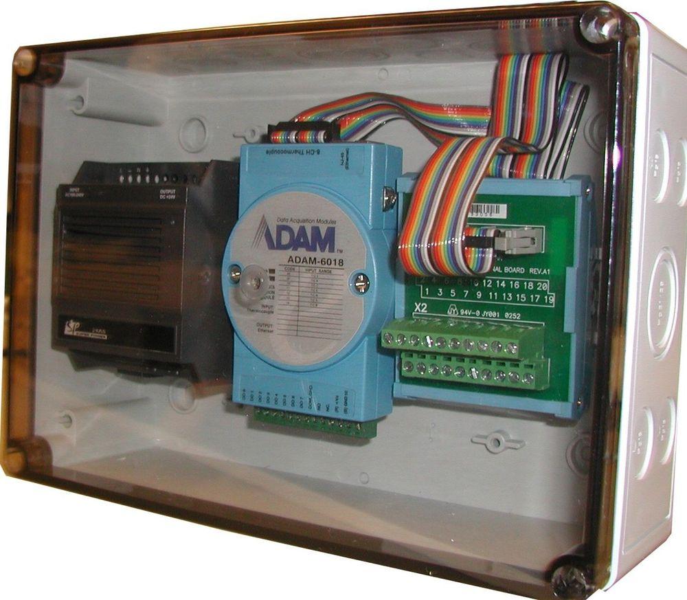 POTTE TETT: Modulkassen for ADAM-enheter er støvtett og tåler kraftig vannsprut i korte perioder. Den overlever temperaturer opp til 115 grader C.
