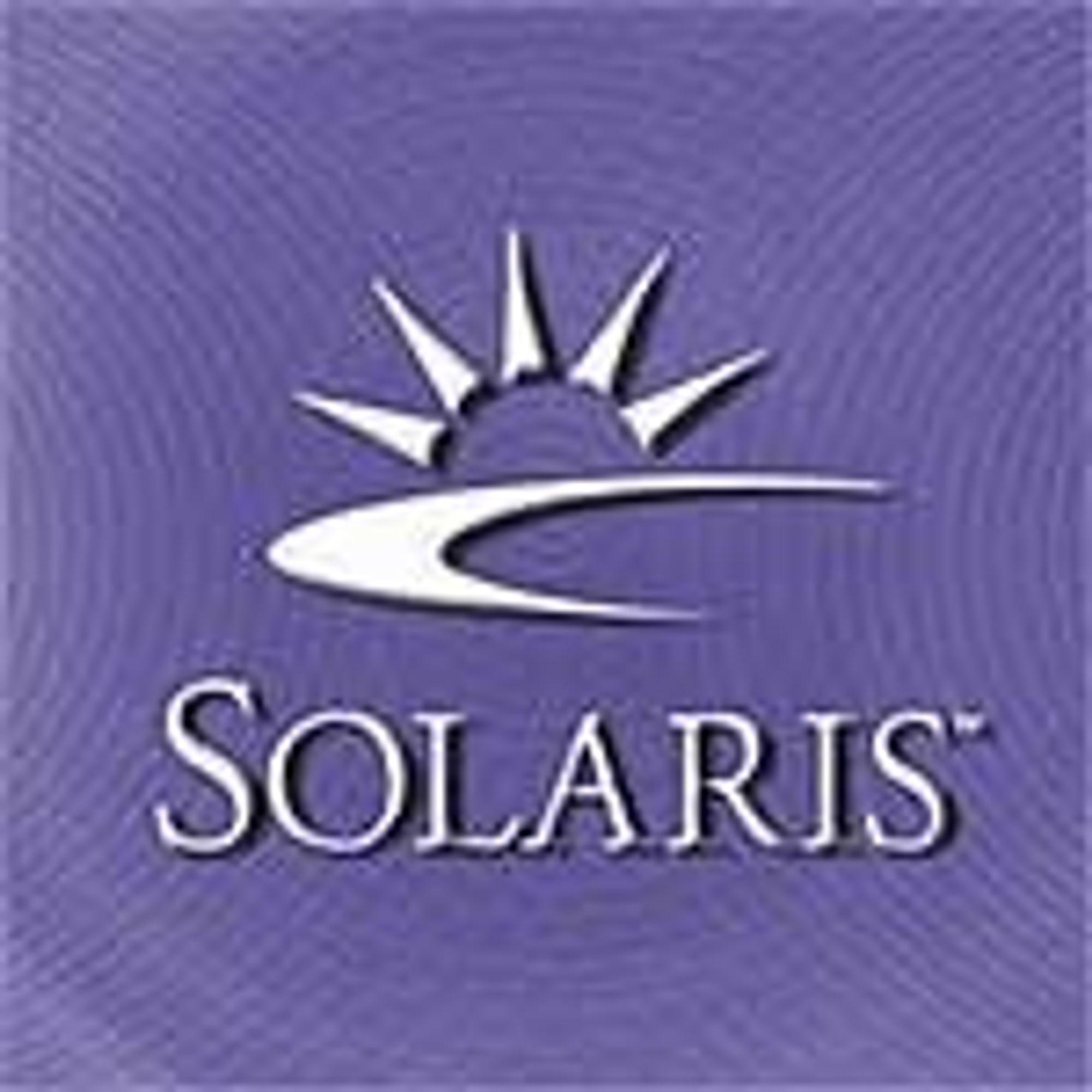 Sun frigir Solaris