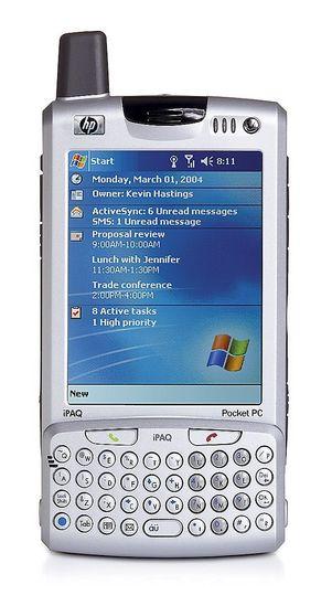 LETT TASTINGDet er lett å taste inn tekst og meldinger med det påklipsbare tastaturet på HPs nye universaldings.