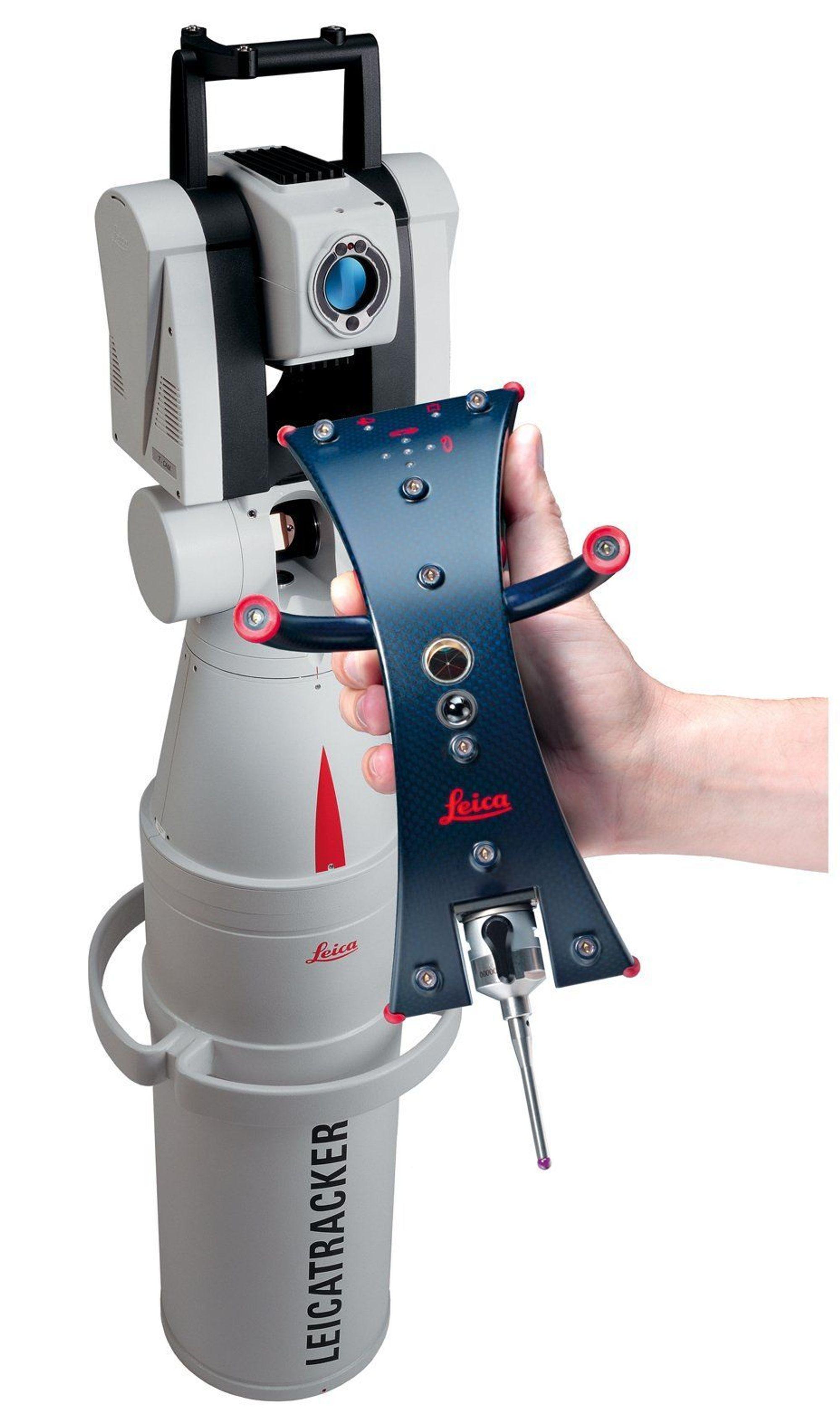 INNOVATIV: Det nye laser og diodebaserte målesystemet til Leica setter en ny standard for industriell måleteknikk.