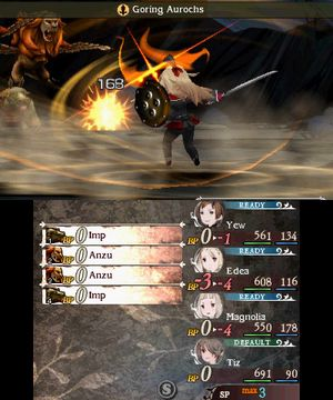 Eit av dei beste kampsystema i eit japansk rollespel.