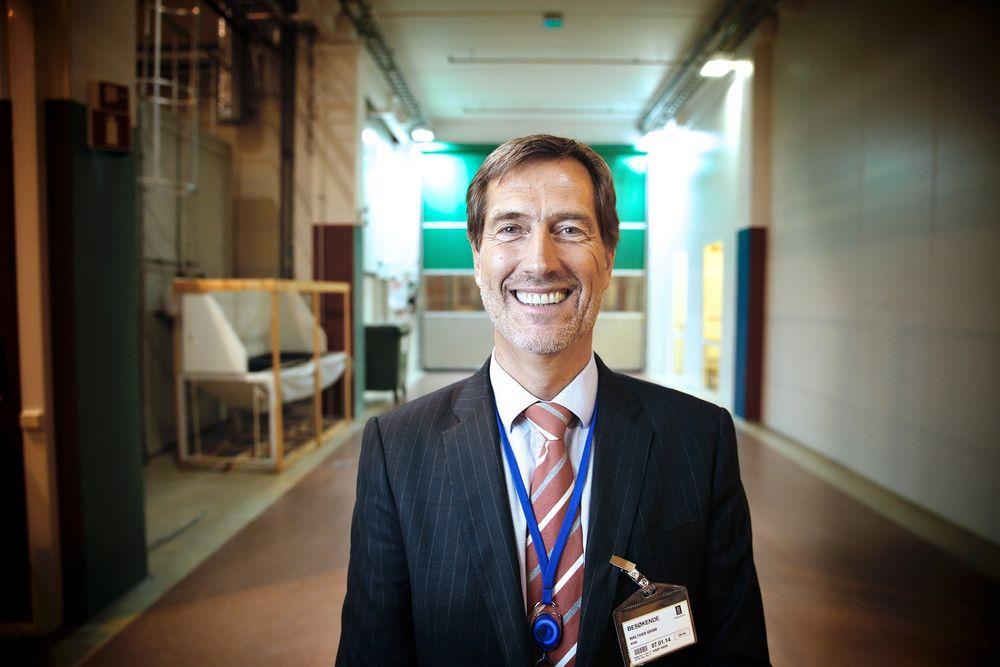 Stolt: – Jeg er stolt av Kongsberg-kulturen og over at vi har klart å bli verdensledende på flere områder, sier konsernsjef Walther Qvam.
