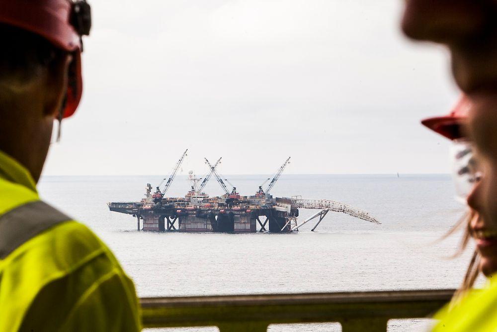 Trekker seg: Fagforeninger trekker seg fra sikkerhets- og beredskapssamarbeid, fordi de mener Norsk olje og gass aktivt svekker sikkerheten på norsk sokkel. Illustrasjonsfoto: Arkiv