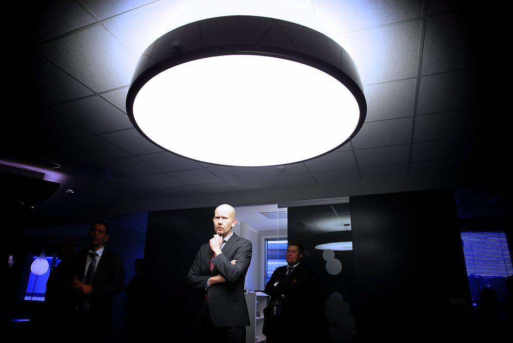 USIKKERT: Olje- og energiminister Tord Lien sier til Teknisk Ukeblad at Johan Sverdrup blir elektrifisert, men at man får se hva som skjer med Edvard Grieg-feltet.