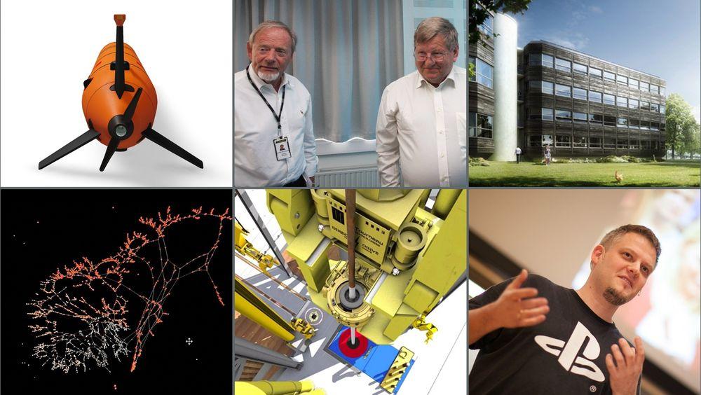 De seks kandidatene til Teknologibragden.