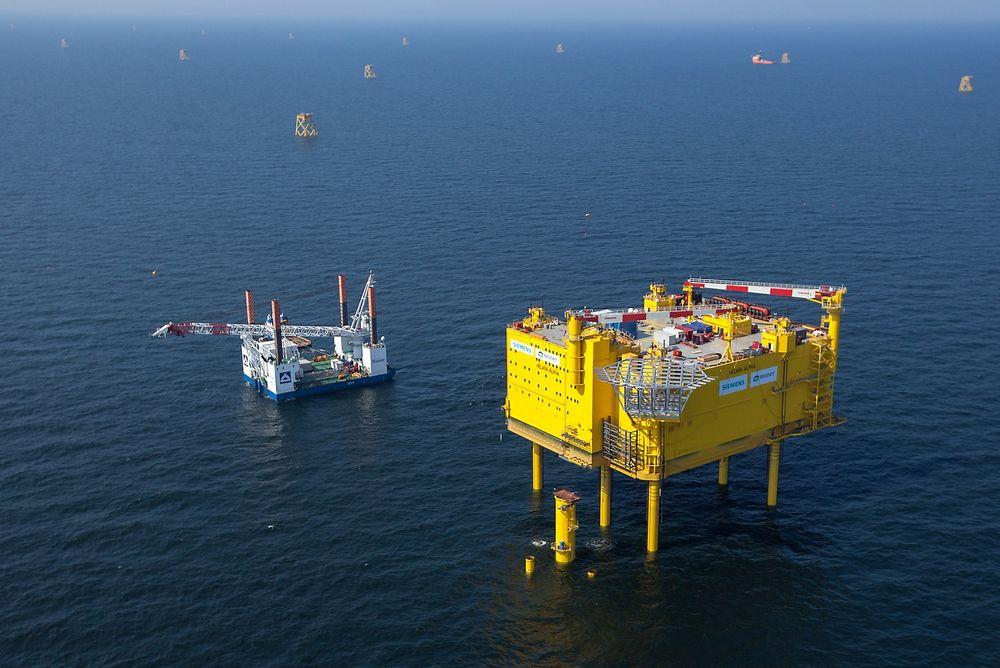 Distribusjonsplattformen  HelWin1 som Siemens har utviklet, ble utplassert i Nordsjøen i 2013 og satt i drift i høst.