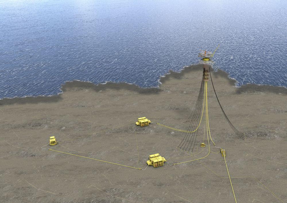Mot nord: Subsea 7 skal installerer 19 kilometer rørledninger og fire stigerør til Aasta Hansteen.