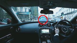 Navigér etter en spøkelsesbil og se rett «gjennom» karosseriet