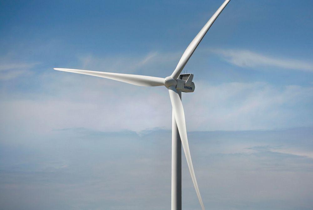 Gir kraft: Vindkraftverket kan gi strøm tilsvarende forbruket til 6250 husstander.