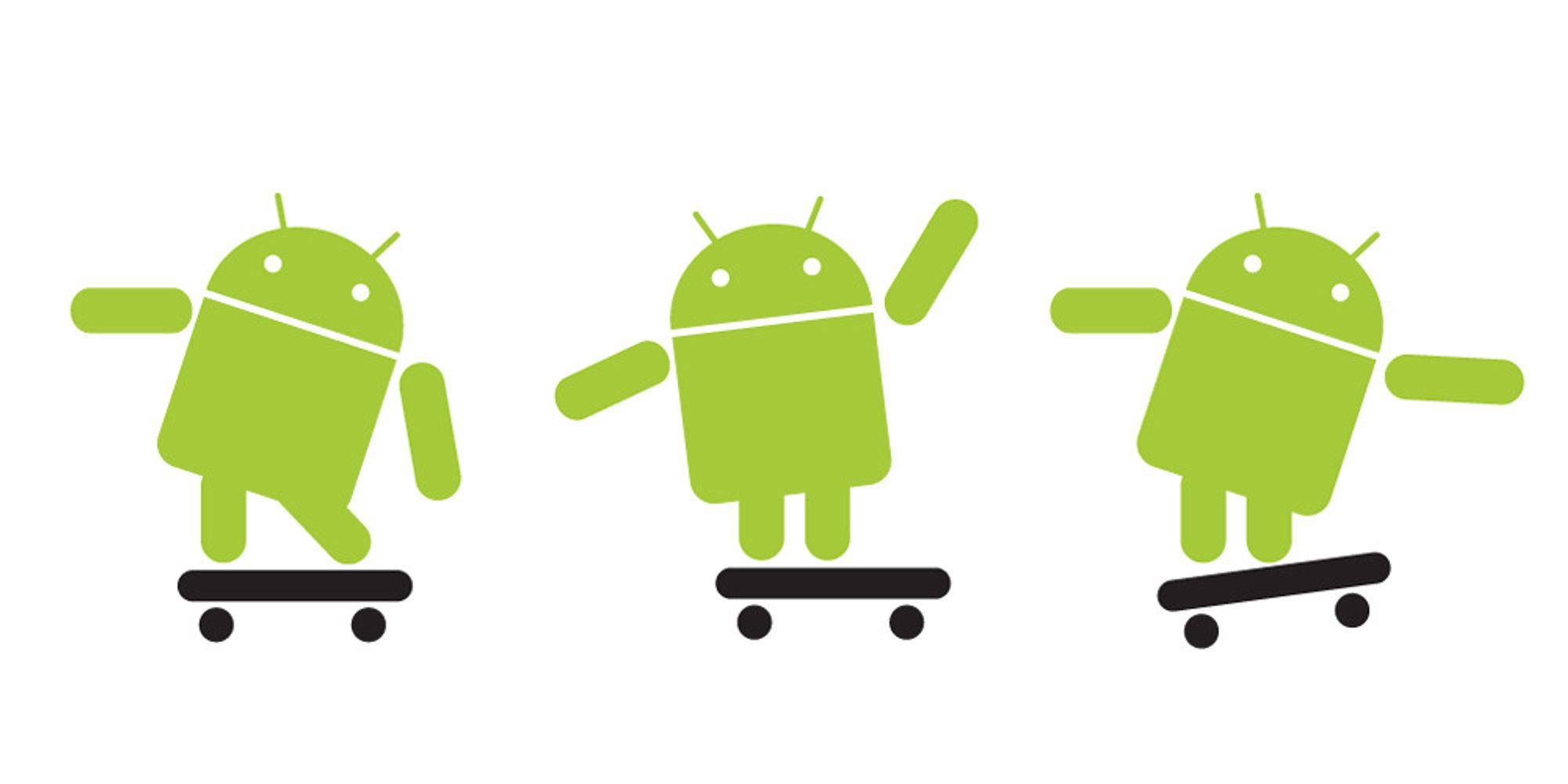 Android aksellererer kraftig