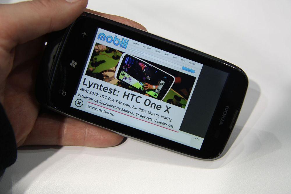 Lyntest: Nokia Lumia 610