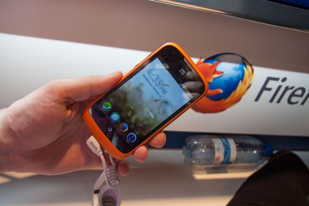 Slik er Firefox OS