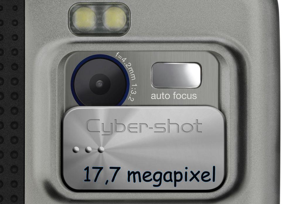 Sony lager 17,7 MP kamera