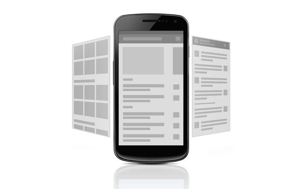 Google lager retningslinjer for app-design