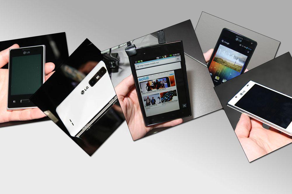 Dette er LGs nye telefoner