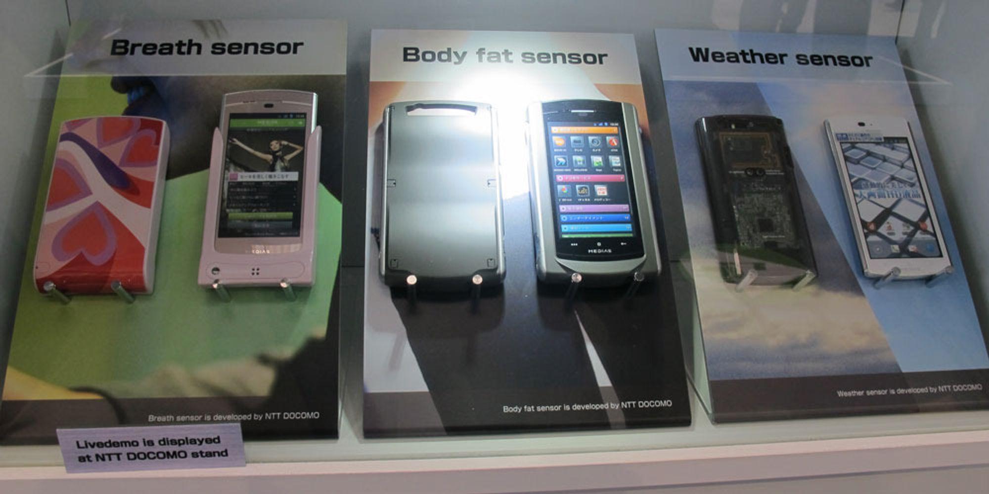 Nå skal mobilen måle fettprosenten din