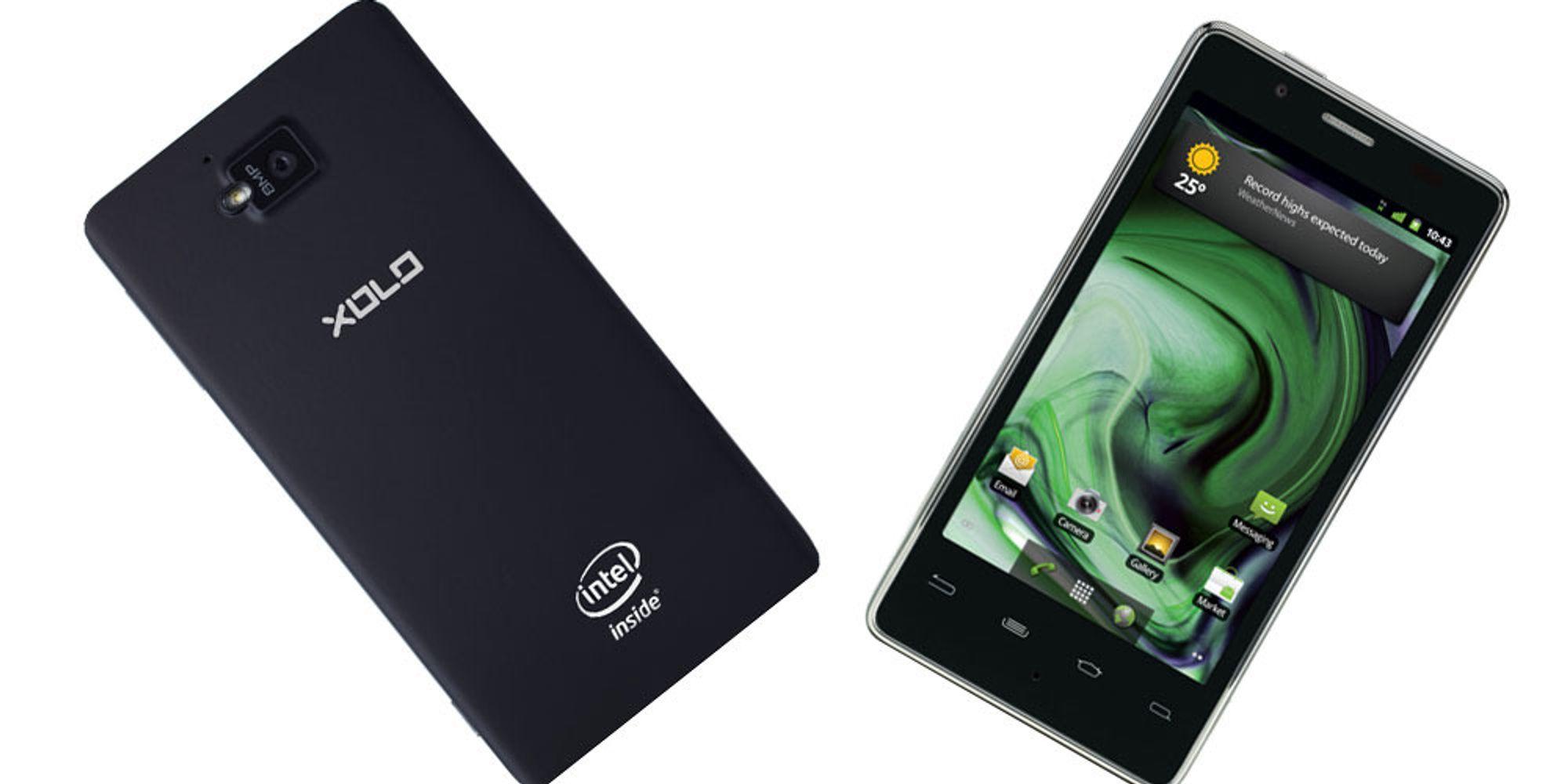 Her er den første Intel-mobilen