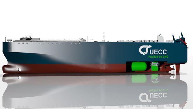 Dette skipet skal gå på naturgass