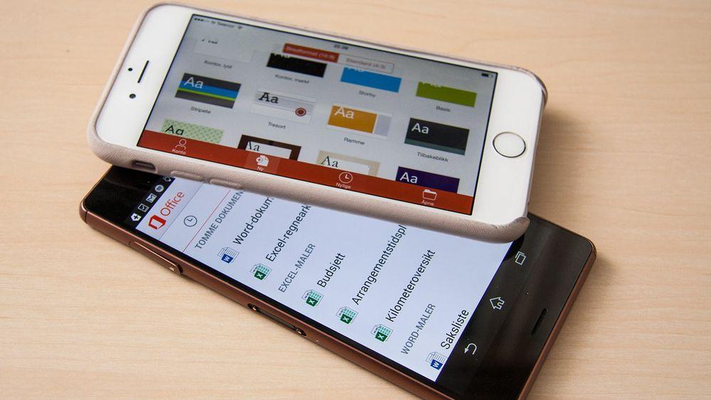Microsoft har gjort Office-appene sine gratis på Android og iOS.