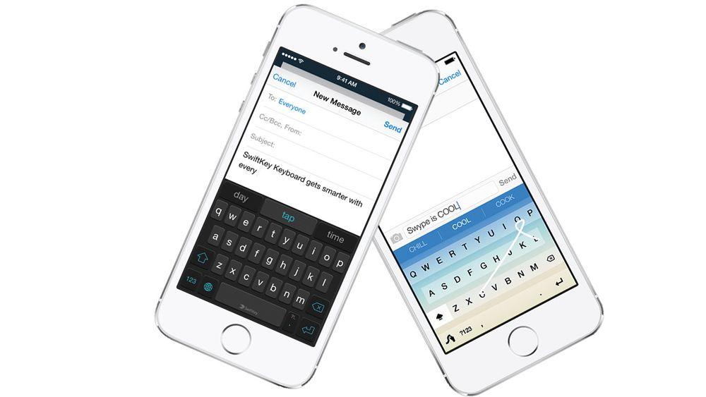 Swiftkey og Swype er nå tilgjengelig med norsk språk til iPhone og iPad.