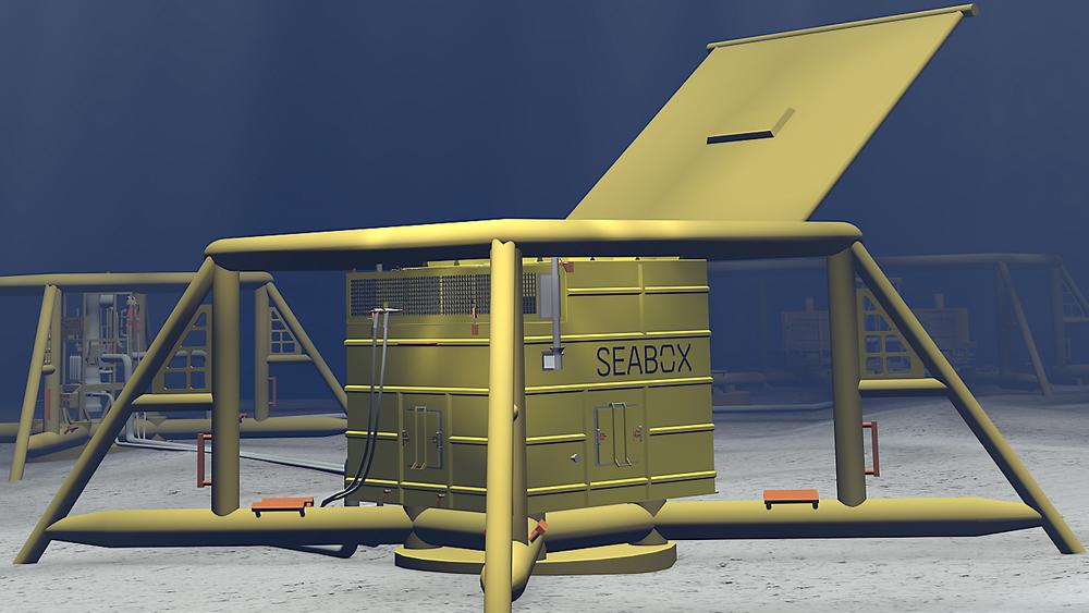 Seabox kan nå i prinsippet produsere ferskvann på havbunnen.