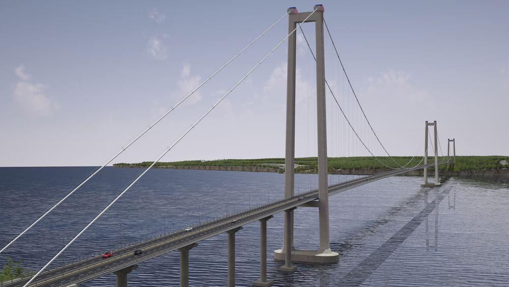 Chacao bridge skal bygges for å binde sammen Chiles største øy med fatslandet.