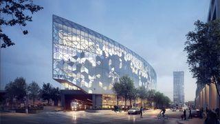 Se Snøhettas nye superbibliotek