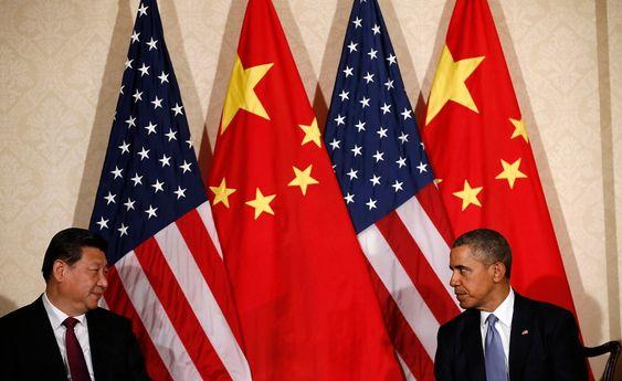 Kinas president Xi Jinping og USAs president Barack Obama møttes under atomtoppmøtet i Haag