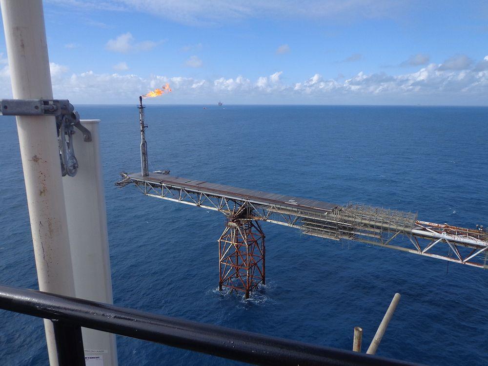 Oljeselskaper på britisk sektor av Nordsjøen får mest sannsynlig skattefordeler ved å utvikle prosjekter med høy temperatur og høyt trykk. Illustrasjonsfoto: Tampnet