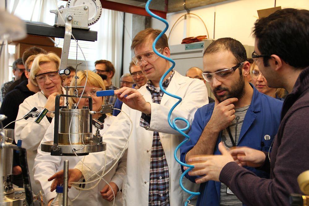 Onsdag åpner det nye nasjonale forskningssenteret for økt oljeutvinning ved Universitetet i Stavanger.