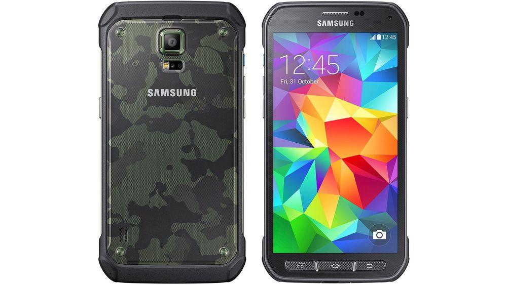 Denne telefonen skal tåle en hel del mer enn Galaxy S5, men er nesten identisk spesifisert.