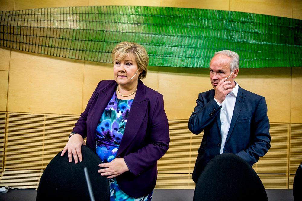 Endelig: Jan Tore Sanner har sittet på Stortinget i 21 år. I fjor fikk han endelig en ministerpost.