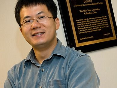 Job # 080727Yiying WuChemistry, Assistant ProfessorMcPherson LabSEP-19-2008Photo by Jo McCultyThe Ohio State University