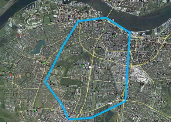 Fellesstart: Det første området som fikk et felles 3G-nett delt av Telenor og Telia Sonera var i Alborg i forige uke. I løpet av kort tid skal hele Danmark dekkes i felleskap