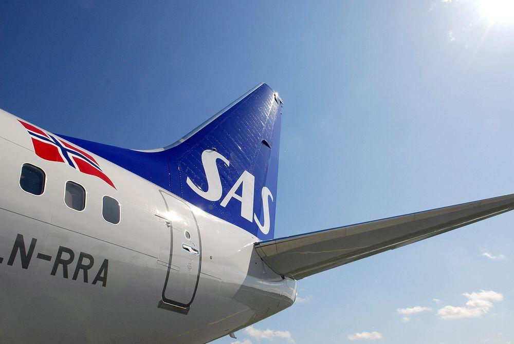 ÅPEN: Mobilapplikasjonen fra SAS er blitt populær, men en privat gransking avdekket store hull i sikkerheten for brukerne.