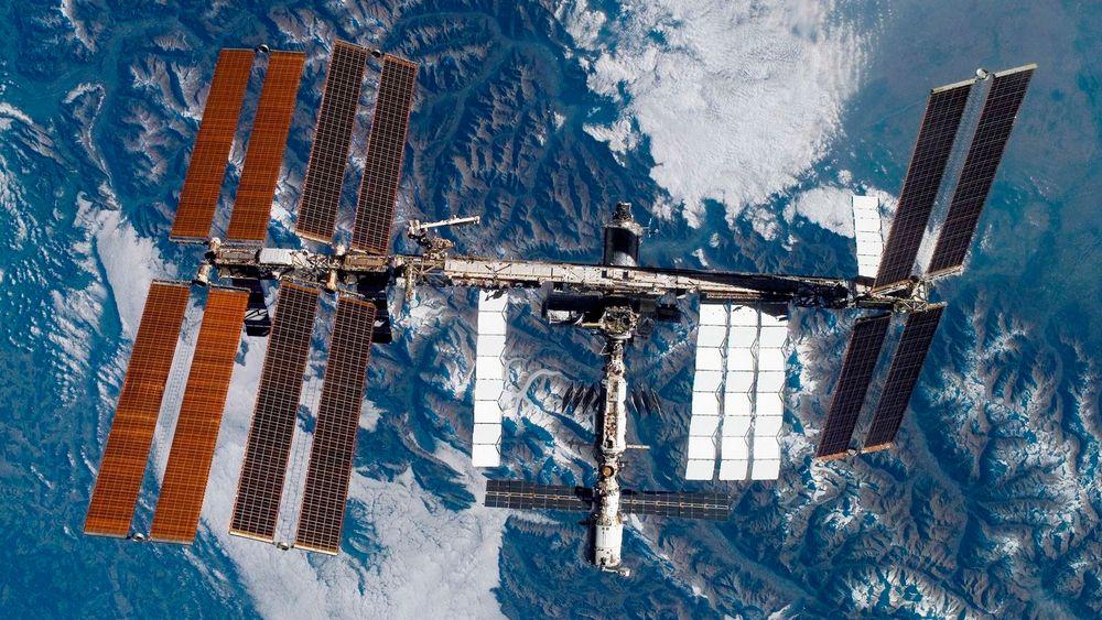 Den internasjonale romstasjonen har en ammoniakklekkasje.