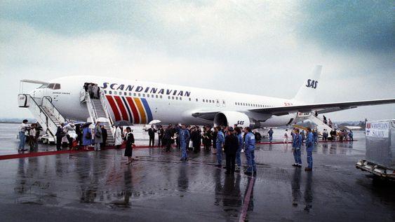 SAS mottok sin første 767 i 1989. Den ble brukt på New York-ruten.