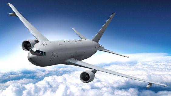 De første 18 av minst 179 KC-46A (ombygd 767) skal leveres USAF i 2017.
