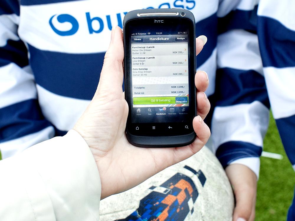 Inntekt: Idrettsforbundets nye mobilportal skal bidra til å redusere inntektstapet for klubbene.