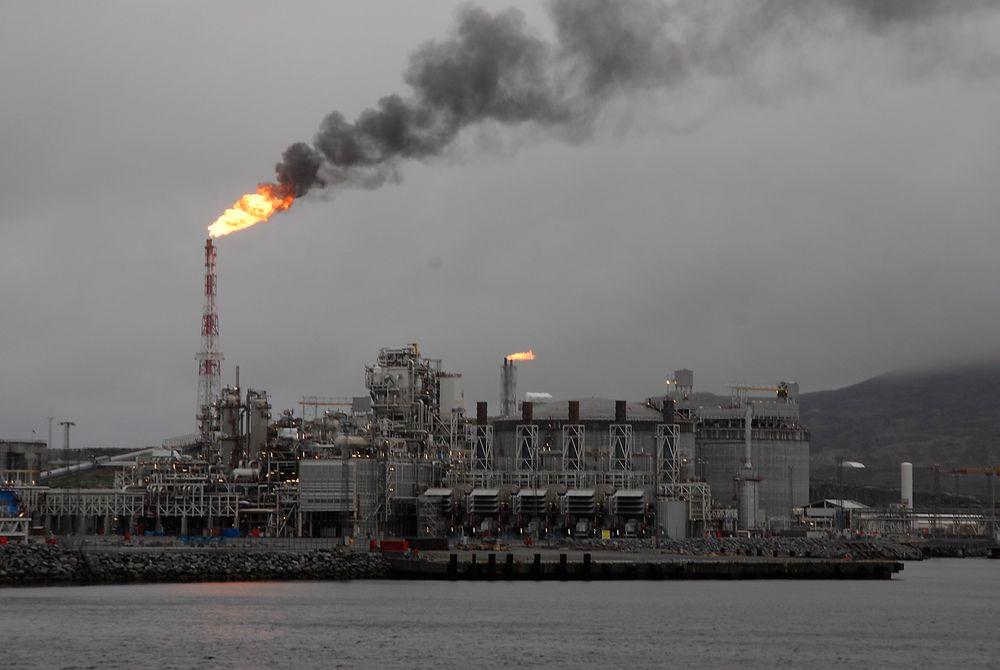 LNG-anlegget på Melkøya er en av de største utslippskildene for CO2 i Norge.